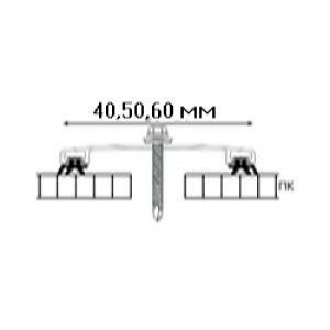 АПК крышка с уплотнителями Arcos Group (Аркос Груп) 6м Серебряный