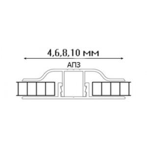 АПЗ соединительный Arcos Group (Аркос Груп) 6м Серебряный