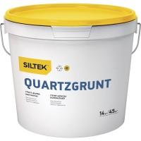 Грунт-краска Siltek Quartzgrunt контактная, 14 кг