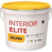 Краска Siltek Interior Elite латексная матовая премиум-класса. База А, 0,9 л / 4,5 л / 9 л