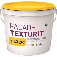 Краска Siltek Facade Texturit атмосферостойкая структурная. База ТА, 4,5 л / 9 л