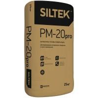 Штукатурка гипсовая Siltek Pro PM-20 универсальная, 25 кг