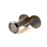 Глазок дверной, стеклянная оптика, DVGU, 28/65x90 AB Бронза