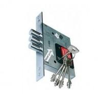 Корпус врезного цилиндрового замка с защёлкой 252/R w/b (тех. комплектация)