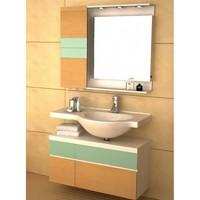 Комплект мебели для ванной GSP9102