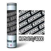 Кровельный материал Katepal К-PS (Катепал К-ПС) 170/4000 верхний слой с гранулами, цвет серый