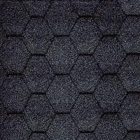 Гибкая черепица Katepal Classic KL (Катепал Классик КЛ) Черный
