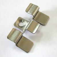 Клипса металлическая 40х25 мм (Н=5-6)