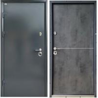 "Двери входные Steel Art ""Стандарт Steel"" DA-8 Ral7024"