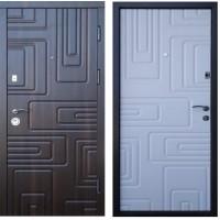 """Двери входные Steel Art """"Акцент Лайт"""" Орех мерен."""
