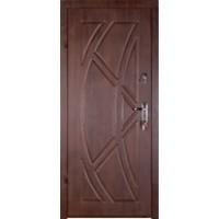 """Дверь """"Викинг"""" Темный орех"""