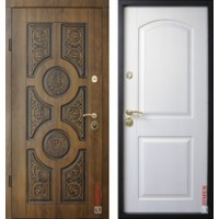 """Дверь """"Astoria 3D VINORIT"""" Дуб золотой патина / 3 разные накладки"""