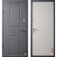 "Дверь ""Elegance"" Soft элегантный серый /Soft светлый какао"