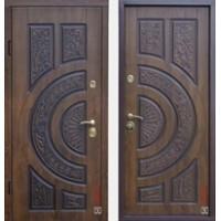 """Дверь """"Genesis 3D VINORIT"""" Дуб золотой патина"""