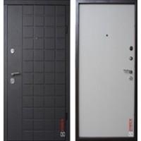 """Дверь """"Grid"""" Дуб Graphite / Дуб Capuccino"""
