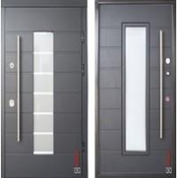 "Дверь ""Ortis VINORIT"" Антрацит структурный"