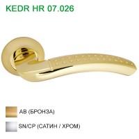Ручка дверная KEDR (Кедр) HR 07.026