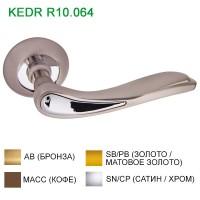 Ручка дверная KEDR (Кедр) R10.064