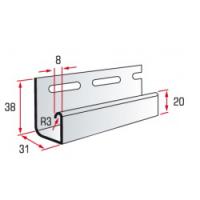 J-trim для ТМ Альта-Сайдинг, Flex, Kanada плюс, BlockHouse Slim