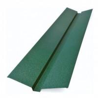 Накладка желоба декоративная Tile (Тайл) 105х20х40х20х105 мм