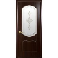 """Дверь """"ФОРТИС DELUXE Р"""" Фортис Вензель V стекло"""