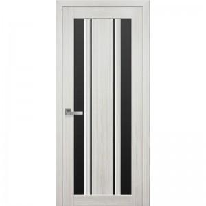 """Дверь межкомнатная """"ИТАЛЬЯНО"""" Верона С2 стекло черное"""