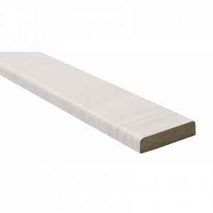 Притворная планка Омис Cortex Deco 33мм, 2020мм бел