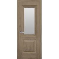 """Дверь """"Прованс"""" Канна (со стеклом) орех европейский"""