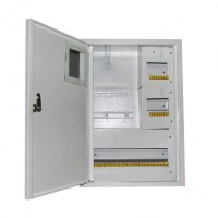 Щит наружный под 3-фазный электронный счетчик+ 24 автомата