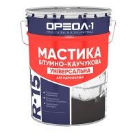 """Мастика битумно-резиновая """"УНИВЕРСАЛЬНАЯ"""" 3 кг с этикеткой R-15"""