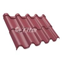 Металлочерепица Tile Premium (Тайл Премиум) RAL 3005