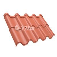 Металлочерепица Tile Premium (Тайл Премиум) RAL 8004