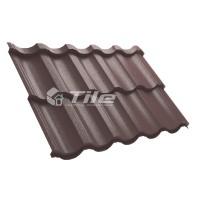 Металлочерепица Tile Modern (Тайл Модерн) модульная RAL 8017