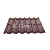 Металлочерепица Tile Classic (Тайл Классик) RAL 8017
