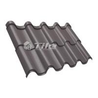 Металлочерепица Tile Premium (Тайл Премиум) RAL 8019