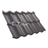 Металлочерепица Tile Modern (Тайл Модерн) модульная RAL 8019