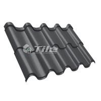 Металлочерепица Tile Premium (Тайл Премиум) RAL 9005