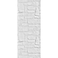 Пластиковая панель, 5250 Кирпич, лак/матовый лак, серый