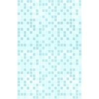 Пластиковая панель, 5250 Мозаика, лак/матовый лак, голубой