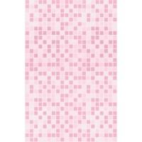 Пластиковая панель, 5250 Мозаика, лак/матовый лак, розовый