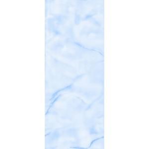 Пластиковая панель, 5250 Волна, лак/матовый лак, голубой