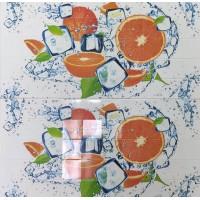 Пластиковая Панель Пластмаркет кафельная плитка Апельсин 960 * 485мм