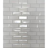 Пластиковая Панель Пластмаркет плитка Кабанчики белая 960 * 485мм