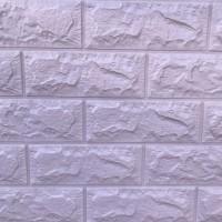 Панель стеновая 3D Sticker Wall (Стикер Вол) Розовый (кирпич)