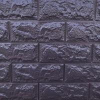 Панель стеновая 3D Sticker Wall (Стикер Вол) Баклажан-кофе (кирпич)