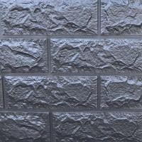 Панель стеновая 3D Sticker Wall (Стикер Вол) Серебро (кирпич)