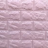 Панель стеновая 3D Sticker Wall (Стикер Вол) Бежевый (кирпич)