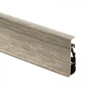 Плинтус ПВХ с кабель-каналом Cezar Hi-Line Prestige (Цезарь Хай-Лайн Престиж) M247 Wood