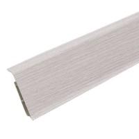 Плинтус пластиковый Идеал DECONIKA (Деконика) №253 Ясень серый