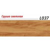 Плинтус LinePlast с мягким краем, матовый, L037 Груша светлая